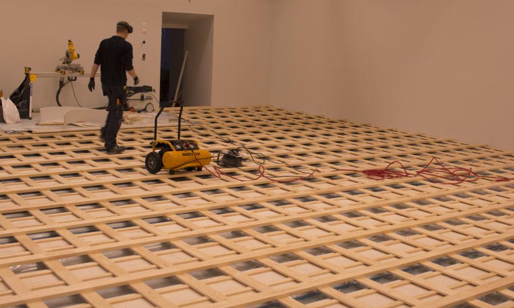 Ombygging og legging av nytt gulv