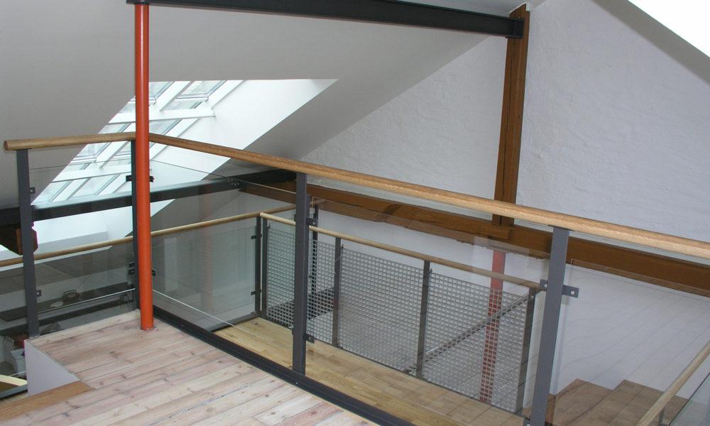 Påbygg i form av loftsutbygging